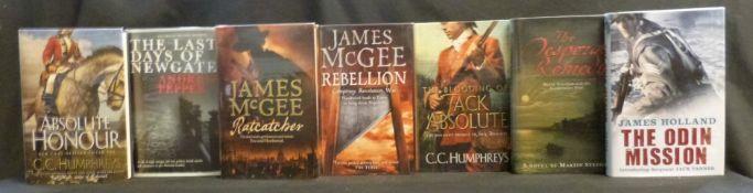 JAMES MCGEE: 2 titles: RATCATCHER, London, Harper Collins, 2006, 1st edition, signed, original