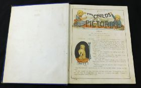A CHILD'S PICTORIAL, [1888], small 4to, contemporary cloth worn