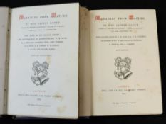 MRS ALFRED GATTY: PARABLES FROM NATURE, London, Bell & Daldy, 1864-65, plates collated complete, vol