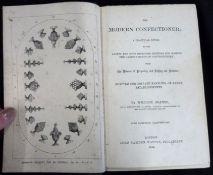 WILLIAM JEANES: THE MODERN CONFECTIONER..., London, John Camden Hotten, 1861, 1st edition, 15