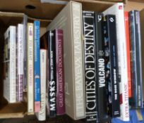 Box: mixed, mainly coffee table titles, from the collection of Derek Cottam