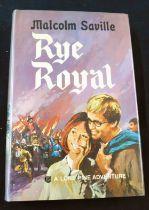 MALCOLM SAVILLE: RYE ROYAL, Collins, 1969, 1st edition, original cloth, spine bright gilt, d/w, vgc