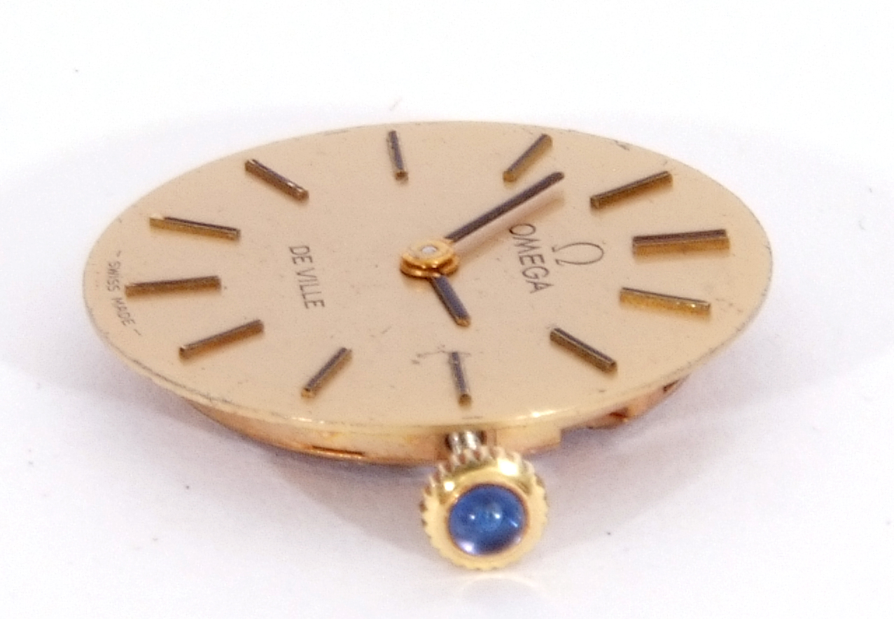 Mixed Lot: ladies Omega De Ville movement, signed 17-jewel movement, 42-05 8802, the winder - Image 8 of 8