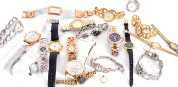 """Mixed Lot: modern watches to include 13 various """"Seksy"""" examples and seven others"""