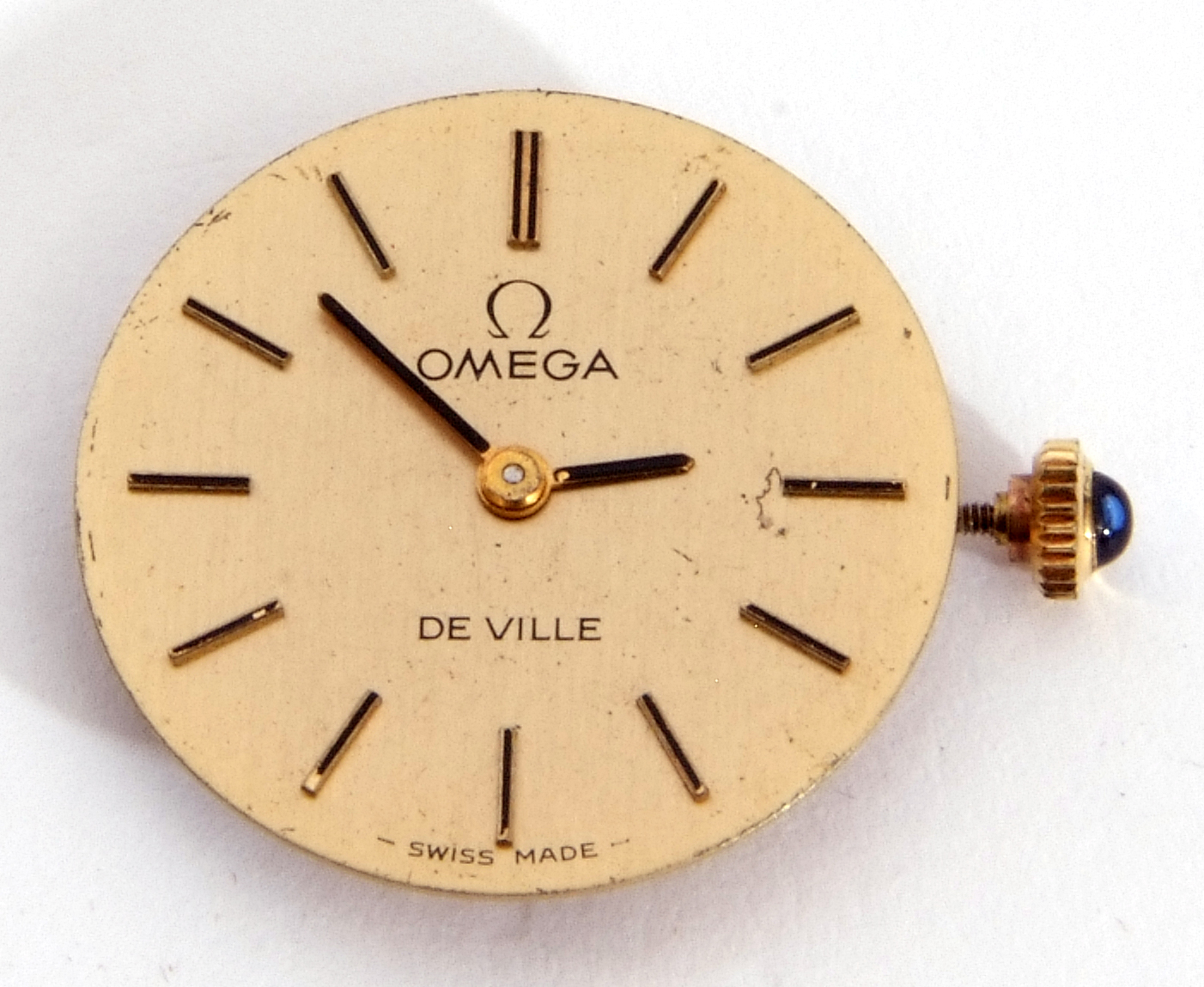 Mixed Lot: ladies Omega De Ville movement, signed 17-jewel movement, 42-05 8802, the winder - Image 5 of 8