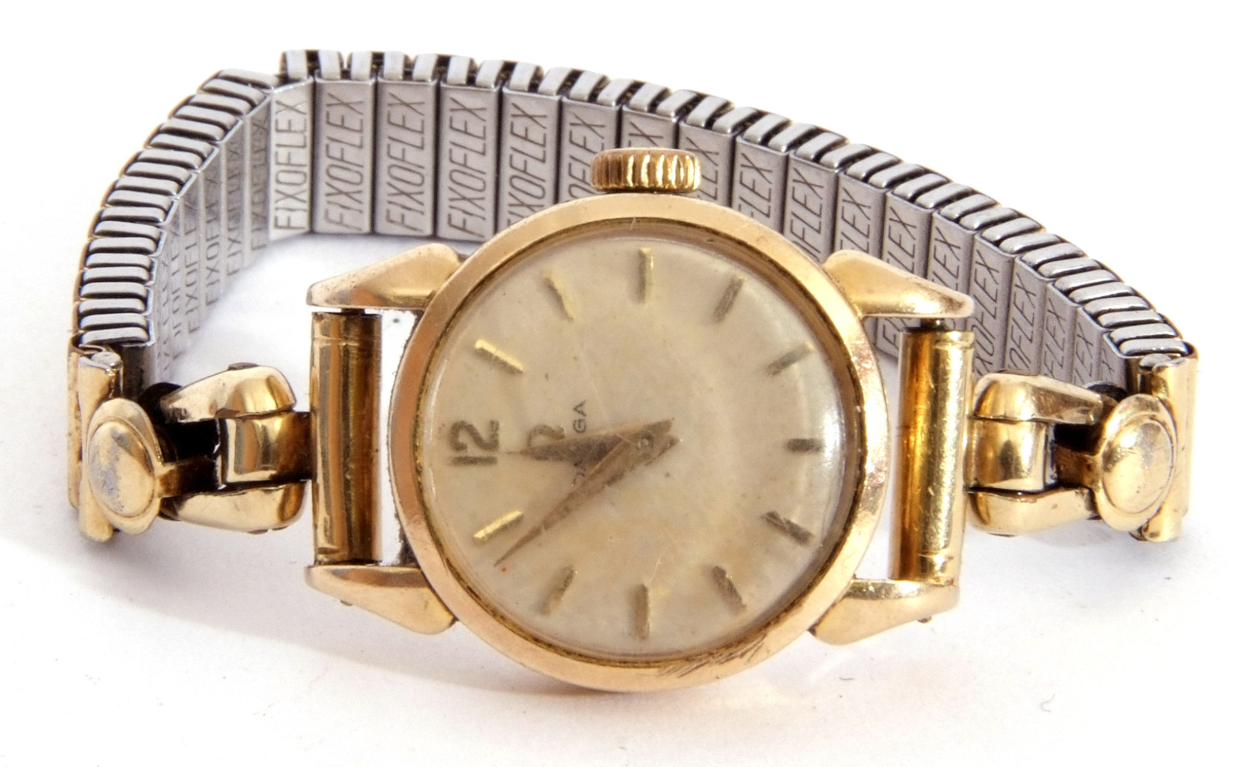 Mixed Lot: ladies Omega De Ville movement, signed 17-jewel movement, 42-05 8802, the winder - Image 3 of 8
