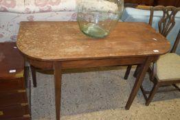SIDE TABLE, WIDTH APPROX 119CM