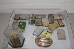BOX CONTAINING QUANTITY OF LIGHTERS