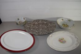 CHINA WARES, SMALL BOWLS, SERVING DISHES ETC