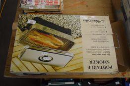 PORTABLE SMOKER BBQ IN ORIGINAL BOX