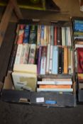 BOX OF BOOKS, MAINLY PAPERBACKS
