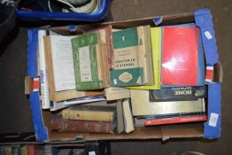 BOX OF BOOKS, SOME SOFTBACK PENGUINS TITLES