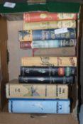 BOX OF BOOKS, VARIOUS TITLES, NOVELS ETC
