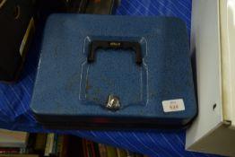 CASH BOX WITH KEY
