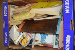 BOX OF BOOKS, VARIOUS SOFTBACK, MR MEN etc