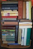 BOX OF MIXED BOOKS, SOME RAILWAY INTEREST, RAILWAY MODELLING ETC