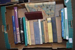 BOX OF BOOKS, SOME GARDENING INTEREST