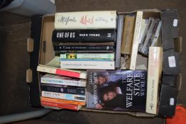 """BOX OF BOOKS, VARIOUS TITLES INC """"THE WELFARE STATE"""""""