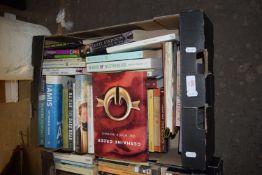 BOX OF BOOKS, MAINLY NOVELS