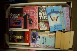 BOX OF MIXED BOOKS, MAINLY PAPERBACKS