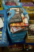 TWO BAGS CONTAINING DVDS