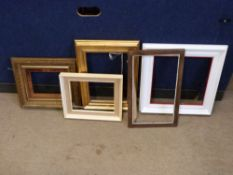 Selection of five various Picture Frames