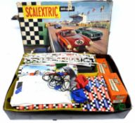 Scalextric motor racing set in original box