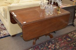 Good quality 19th century mahogany Pembroke table, approx 102cm wide