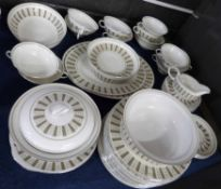 Quantity of Wedgwood dinner wares in the Persia pattern, designed by Susie Cooper, comprising 15