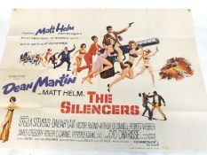 The Silencers quad poster
