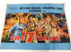 The Seventh Dawn quad poster