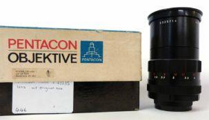Pentacon Auto 2.8/135 lens with original box