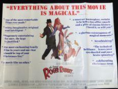 Who framed Roger Rabbit quad poster