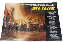 Meteor (1979) quad poster
