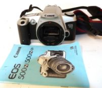 Canon EOS 500N body with manual