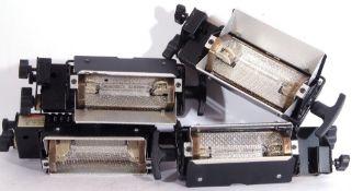 Photon Beard Mini Broad lamps set of 4 with leads.