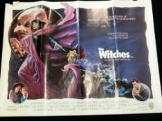 The Witches (1990) quad poster