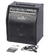 Chord KB-80 keyboard amplifier 80 watt complete with manual and leads.