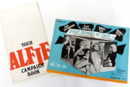 Alfie campaign book together with Four Kinds of Love campaign book
