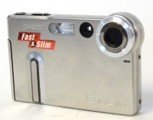 Casio Exilim digital camera and case