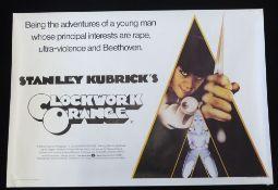 A Clockwork Orange quad poster