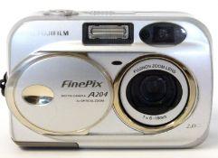 Fujifilm Finepix A204 digital camera with manual