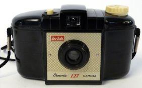 Kodak Brownie 127 with case