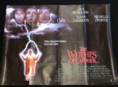 The Witches of Eastwick quad poster