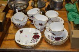 QTY OF TEA WARES BY COLCLOUGH