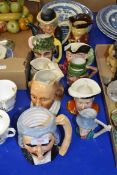 QTY OF TOBY JUGS AND CHARACTER JUGS