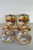 QTY OF ORIENTAL, MAINLY NORITAKE, WARES, WITH TYPICAL VIEWS