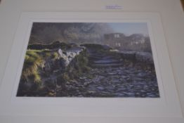 LIMITED EDITION PRINT SIGNED BY ARTIST TO MOUNT