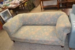 VINTAGE TWO SEATER FLORAL SOFA, LENGTH APPROX 172CM