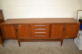 1960S/70S G-PLAN SIDEBOARD, LENGTH APPROX 215CM